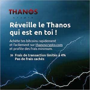 Acheter des bitcoins sur Thanos Crypto